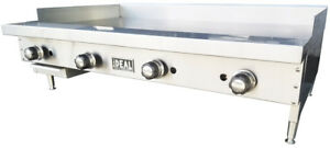 New 30 Commercial Flat Griddle Plate By Ideal Made In Usa Nsf Etl Approved