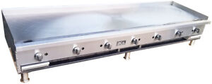 New 84 Commercial Flat Griddle Plate By Ideal Made In Usa Nsf Etl Approved