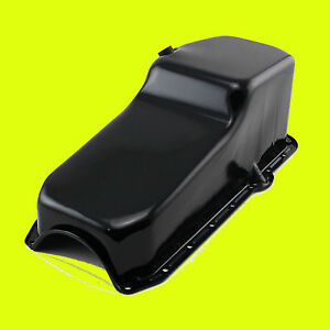 Sbc Black 350 283 400 Oil Pan Sb Small Block Chevy