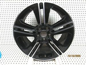 1 2013 2014 Ford Mustang Gt 19 X 8 5 Wheel Dr3j 1007 aa Black Machined