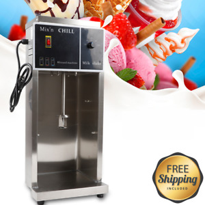 Electric Ice Cream Maker Machine Automatic Blizzard Shaker Blender Mixer New