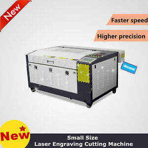 Reci 100w Laser Engraving cutting Machine 400 600mm Motorized Table