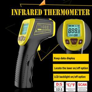 Infrared Thermometer Temperature Tester Gun Non contact Digital Laser 58 1112