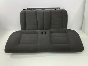 1999 2004 Oem Ford Mustang Coupe Cloth Rear Seats Back Seat Charcoal S7995