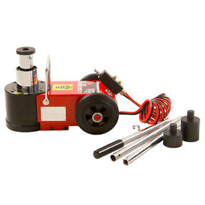 American Forge Foundry 545sd Air Hydraulic Axle Jack 2 Stage 30 15 Ton