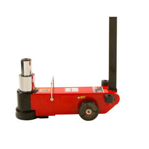 American Forge Foundry 547sd Air Hydraulic Axle Jack 2 Stage 25 50 Ton