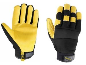 Wells Lamont Men s Hydrahyde Leather Work Gloves X large 2 pack Open Box
