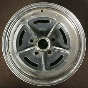 Vintage Buick 15 X 6 Rally Wheel 5x4 75 Bolt Pattern