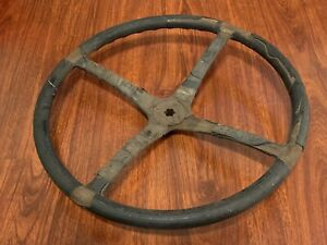 Vintage Car Steering Wheel 17 5 Diameter