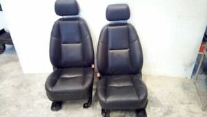 Left Right Pair Front Heated Leather Seats Electric From 2010 Denali 5869981