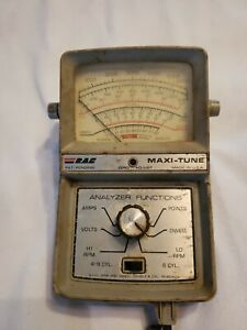 Vintage Rac Maxi Tune Engine Analyzer Dwell Points As Is Not Tested