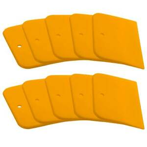 Custom Shop 3 Inch Spreaders For Auto Body Fillers Putties And Glazes 10 Pack