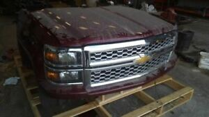 Front Clip From 2014 Chevy Chevrolet Silverado 1500 Pickup 7354982