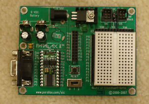 Parallax Board Of Education With Basic Stamp 2