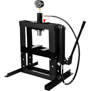 Hydraulic Press Bench Top Mount 375mm 14 8 Height High Quality Advanced Tech