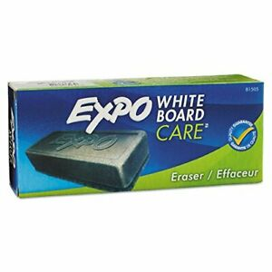 Expo 81505 Dry Erase Board Eraser Soft Pile 5 1 8 W X 1 1 4 H Inches Pack Of