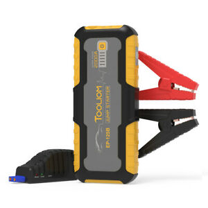 2000a 20000mah Car Jump Starter Portable Auto Lithium Battery Booster 12v
