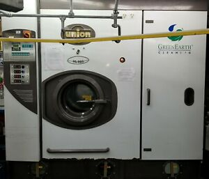 Union Hl 880 Green Earth Dry Cleaning Machine