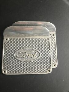 1909 1927 Model T Ford Running Board Step Plates Will Also Fit Model A S One Pr