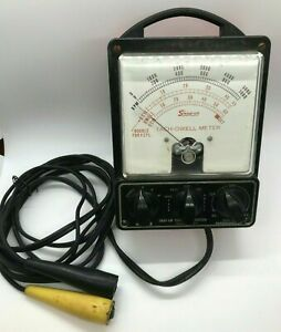 Vtg Snap On Tools Tach Dwell Meter Rpm Engine Testing Tuning Unit Tachometer