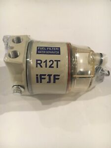 Water Separator Fuel Filter Replace Racor R12t Ifjf
