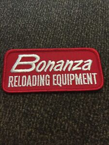 BONANZA RELOADING EQUIPMENT Embroidered Iron On Patch $10.00