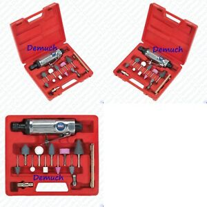 Sealey Sa67 13 Pcs Air Die Grinder Kit Power Tool With Grinding Points Spanners