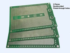 Prototyping Pcb For Through hole And Surface Mount Components 3 pack