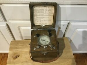 C 1916 Antique General Electric Induction Test Meter