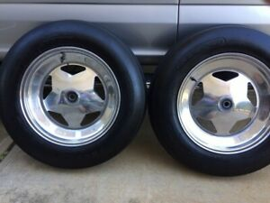Spindle Mount 15 Inch Rims With 5 00x15 Nanco Sand Tires