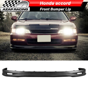 Fits 96 97 Honda Accord Coupe Sedan Mugen Style Pp Front Bumper Lip