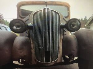 1936 1937 Dodge Pickup Stainless Aftermarket Grille Side Pieces