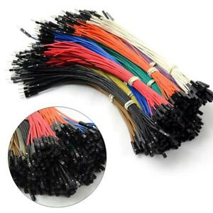 40pcs Dupont Female To Male Jumper Wire Ribbon Cable For Breadboard Arduino 20cm