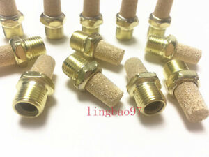 New 12pcs 1 4 Copper Muffler Silencer For Coats Tire Changer Machine Parts
