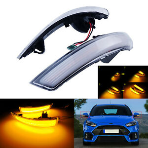 For Ford Focus Mk2 Mk3 Mondeo Mk4 Dynamic Led Wing Mirror Indicator Signal Light