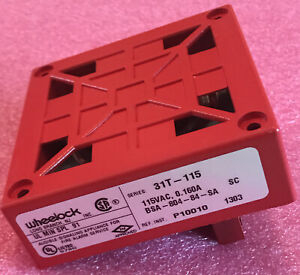 Wheelock 31t 115 Audible Signaling Appliance