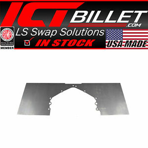 Steel Mid Plate Chevy Sbc Bbc Ls Lt Rear Motor Engine Mount