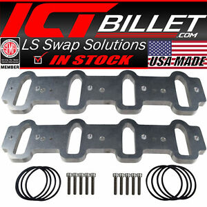 Ls Cathedral Port Intake Manifold Weld Flanges Ls1