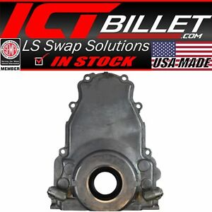 Ls Gen 3 Turbo Oil Drain Return Front Timing Chain Cover 10an