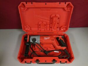 Milwaukee 5262 21 1 Sds Plus Rotary Hammer Kit Corded With Carrying Case