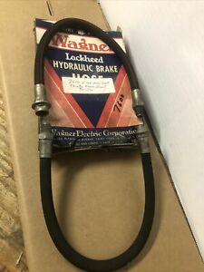 1939 Through 48 Ford Front Brake Hoses Pair In Box