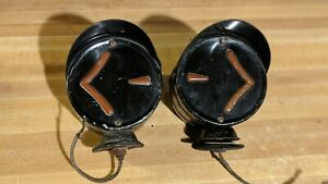 Arrow Safety Device Co Turn Signals Pre World War Ii Hotrod Vintage Taillights