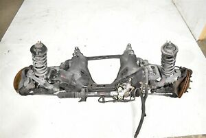 2001 Mazda Miata Mx 5 Front Suspension Control Arm Brakes Cradle Damaged Aa6640
