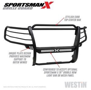 Westin 40 33805 Sportsman X Grille Guard For 15 20 Chevy Tahoe New