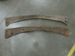 1930 1931 Ford Model A Dash Rail Rough Rat Rod Pair Original