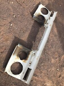 1966 91 Amc Jeep Wagoneer Cherokee J 10 Front Grille Support Panel Rare Rustfree