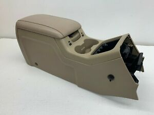 2003 06 Oem Ford Expedition Center Console Armrest Storage Heated Cooled S8149