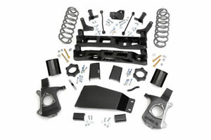 Rough Country 7 5 Lift Kit Fits 2007 2013 Chevy Avalanche 1500 Knuckle