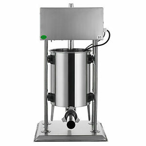 Commercial 4 Funnels Stainless Steel 10l Electric Sausage Stuffer Filler Makera