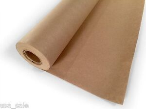 Kraft Paper Jumbo Roll Packing Wrap Craft Butcher Mail Brown 30 X 1200 100ft